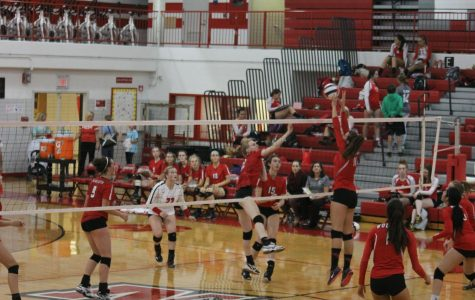 Girls Varsity Volleyball vs. Maine South