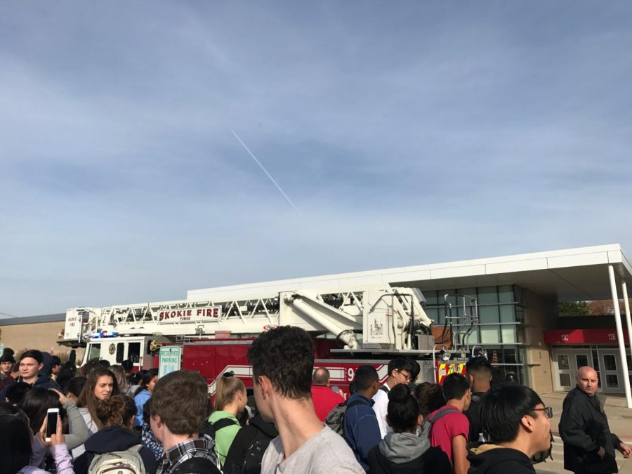 Unexpected Fire Alarm Interrupts Third Period