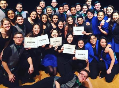 Aca-Buddies: Best Friends On and Off the Stage