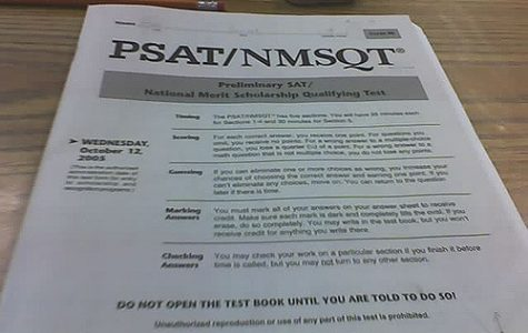 PSAT to Take Place on Wednesday