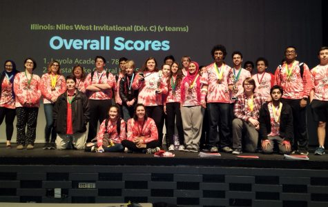 Niles West Science Olympiad Team Takes 13th in State Competition