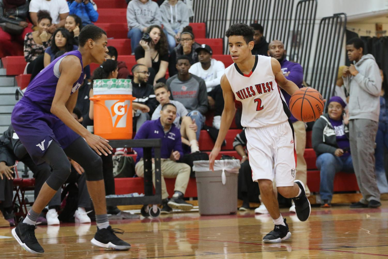 On Thursday, Nov. 30, the boys varsity basketball team had a tough loss against their