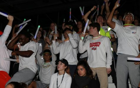 Winter Whiteout for Pep Assembly Friday