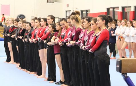 Girls Gymnastics Defeats Niles North: Three-Peat