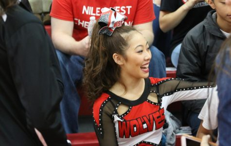 Niles West Cheer Competition