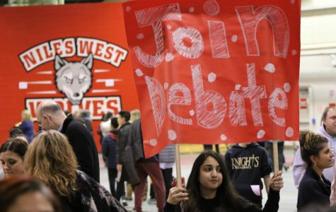 Jan. 24, West hosted incoming eighth graders and their families at the annual Curriculum and Activities Night.