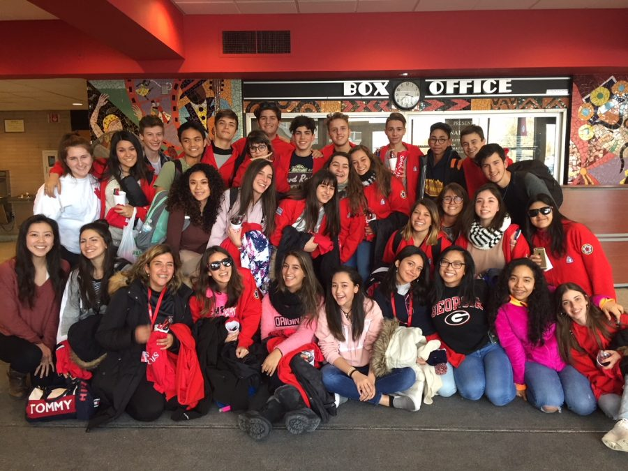 23 Argentinian students arrive at Niles West as part of a three day U.S.-Argentinian exchange.