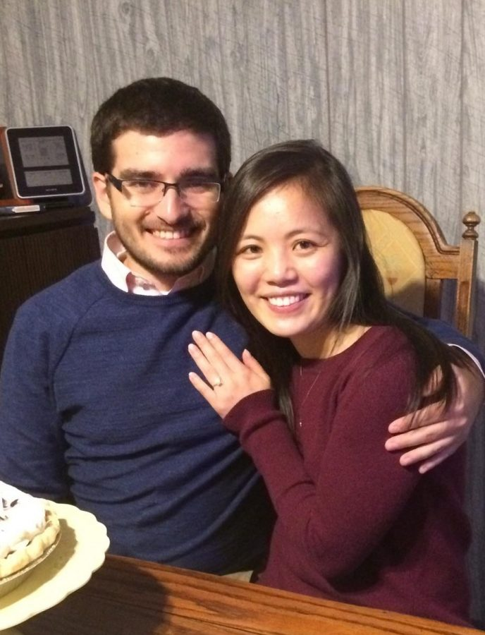 Niles West alumni Alex Zasso and Jessica Ang have been together since high school and plan to get married this July.