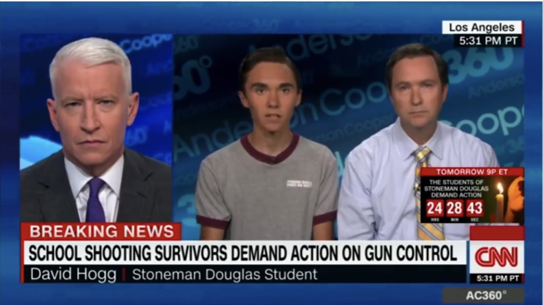 Student survivors of the high school shooting at Marjory Stonemen Douglas High School are being accused of being actors by some members of right-wing media.
