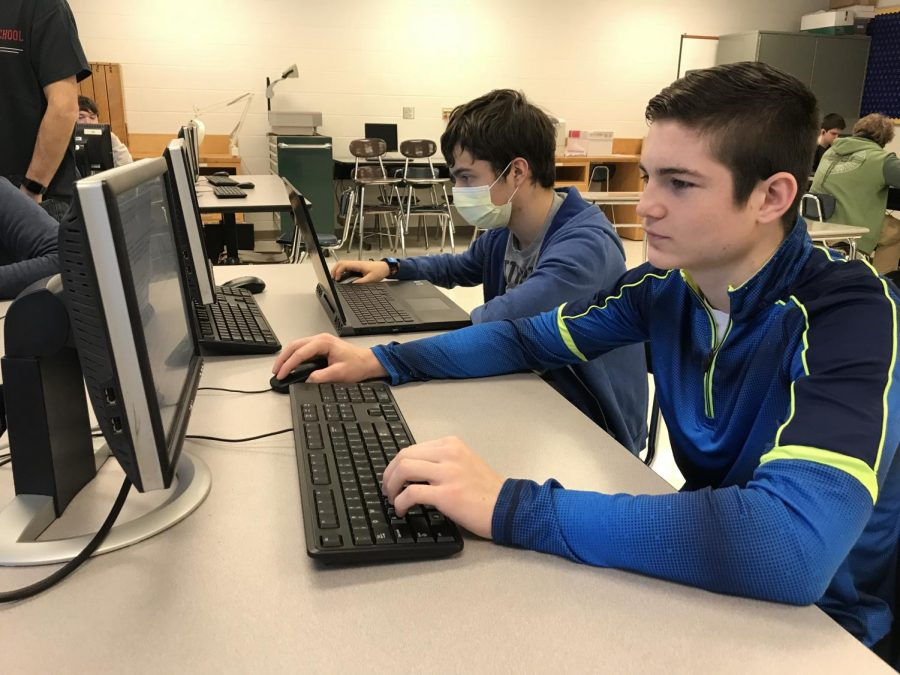 Students in computer science will have the option of taking Cybersecurity next year.