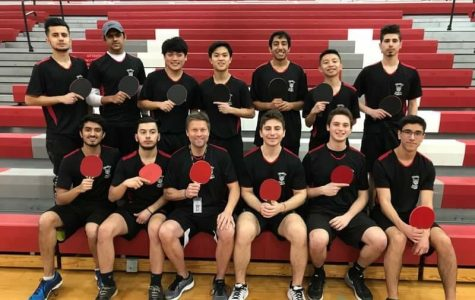 Ping-Pong Team Takes 3rd in State