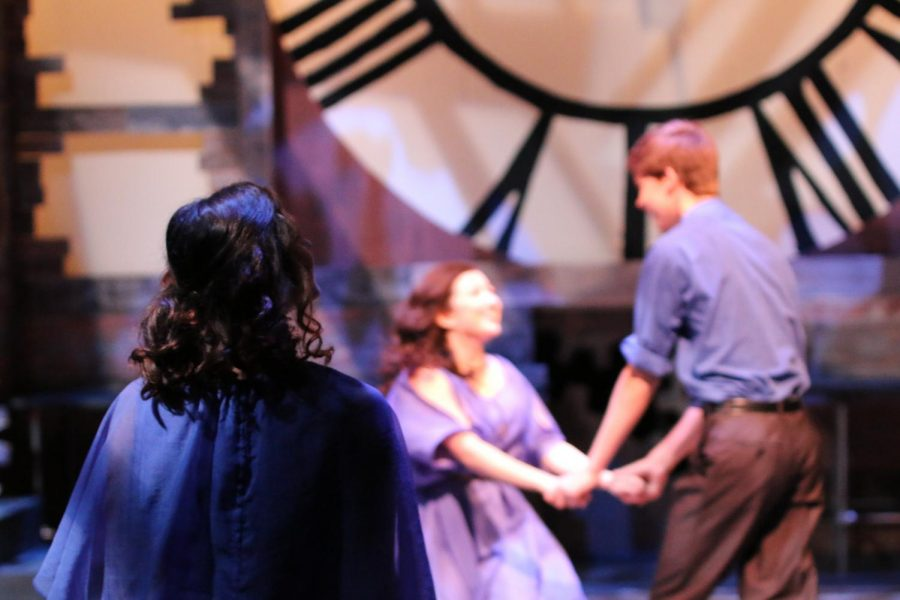 The Niles West Theatre Department holds the community performance of
