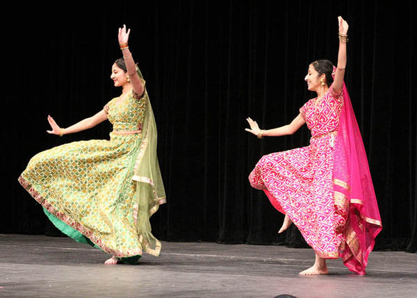 Cultural dance being performed at annual Indo-Pak night.