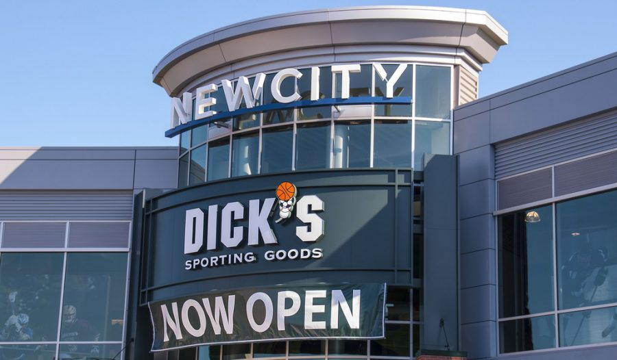 Dick%27s+Sporting+Goods+has+led+the+way+in+instituting+store-wide+regulations+on+the+sale+of+guns+and+ammunitions.+