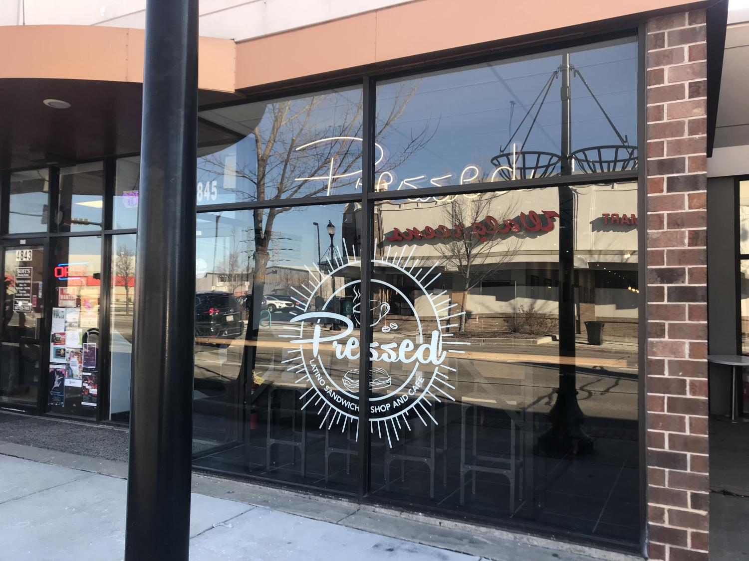 Pressed is a brand new cafe and sandwich shop located on Oakton St.