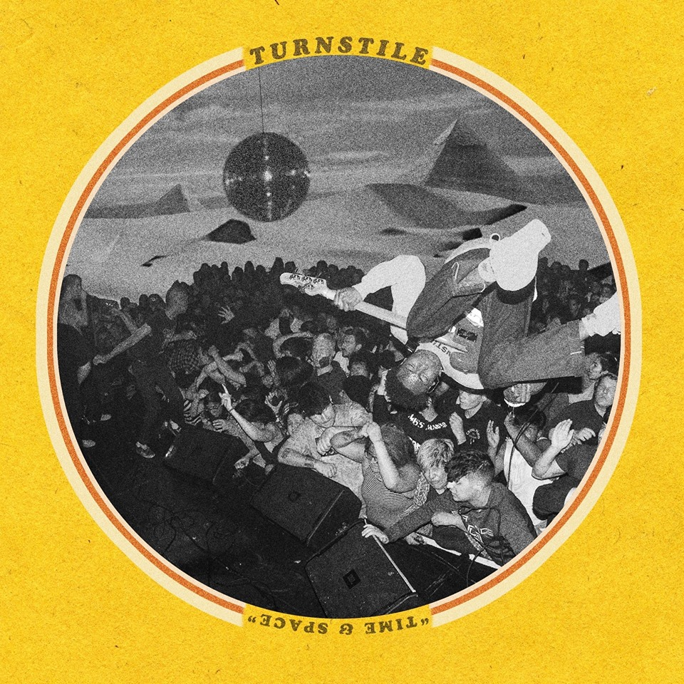 Album Cover for Turnstile's newest release, Time and Space.