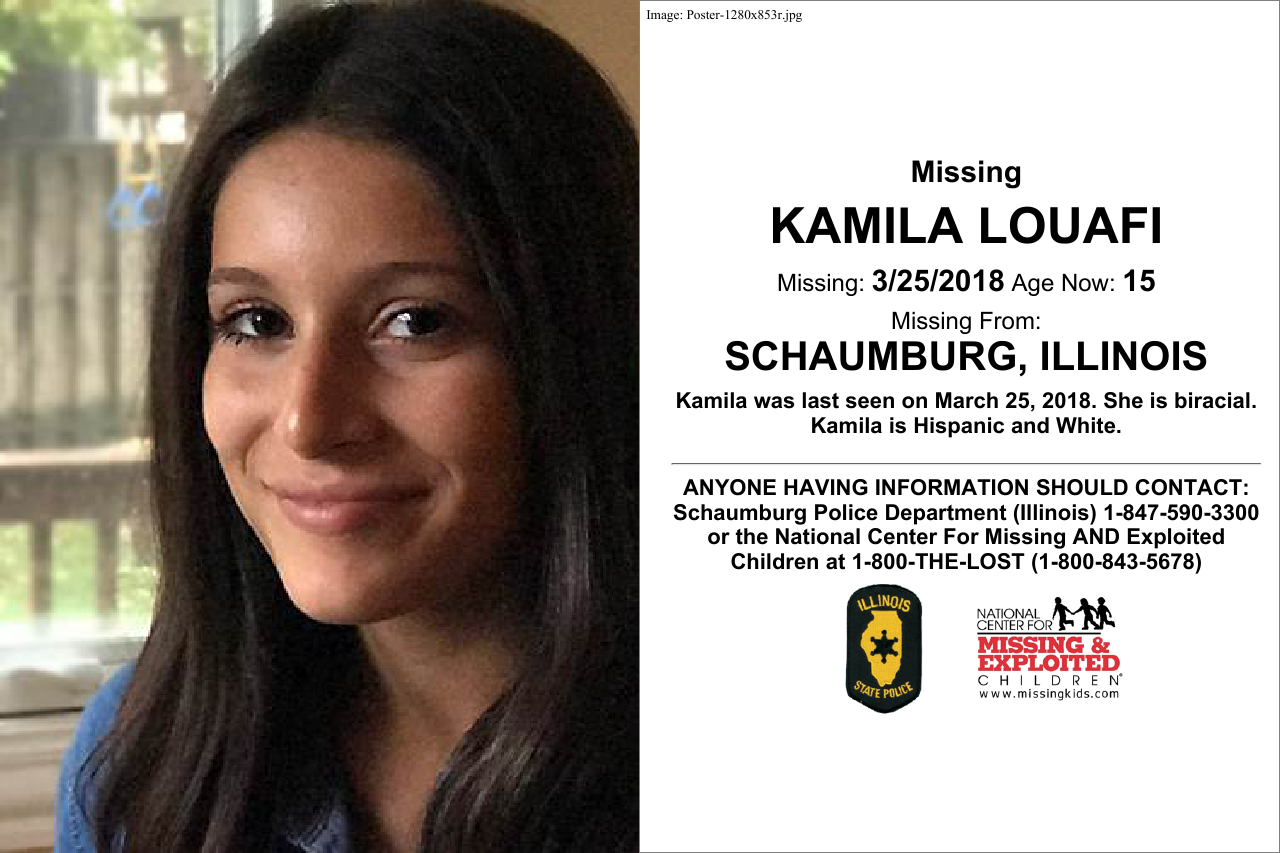 Sophore Kamila Louafi has been missing since March 25