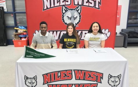 West Athletes commit to athletic careers beyond high school.