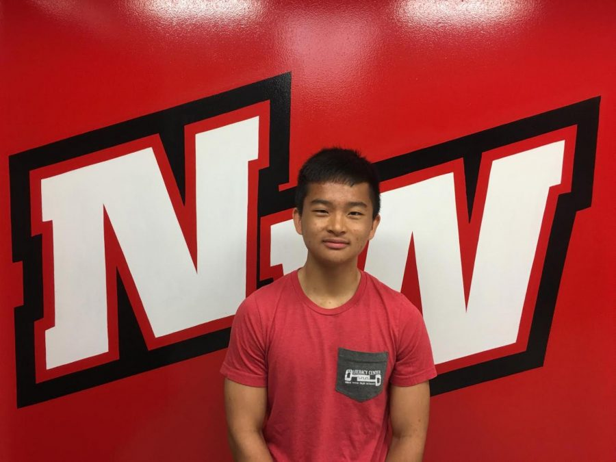 Junior Alan Duong captain of the varsity tennis team is nominated for Spring Athlete of the Month.