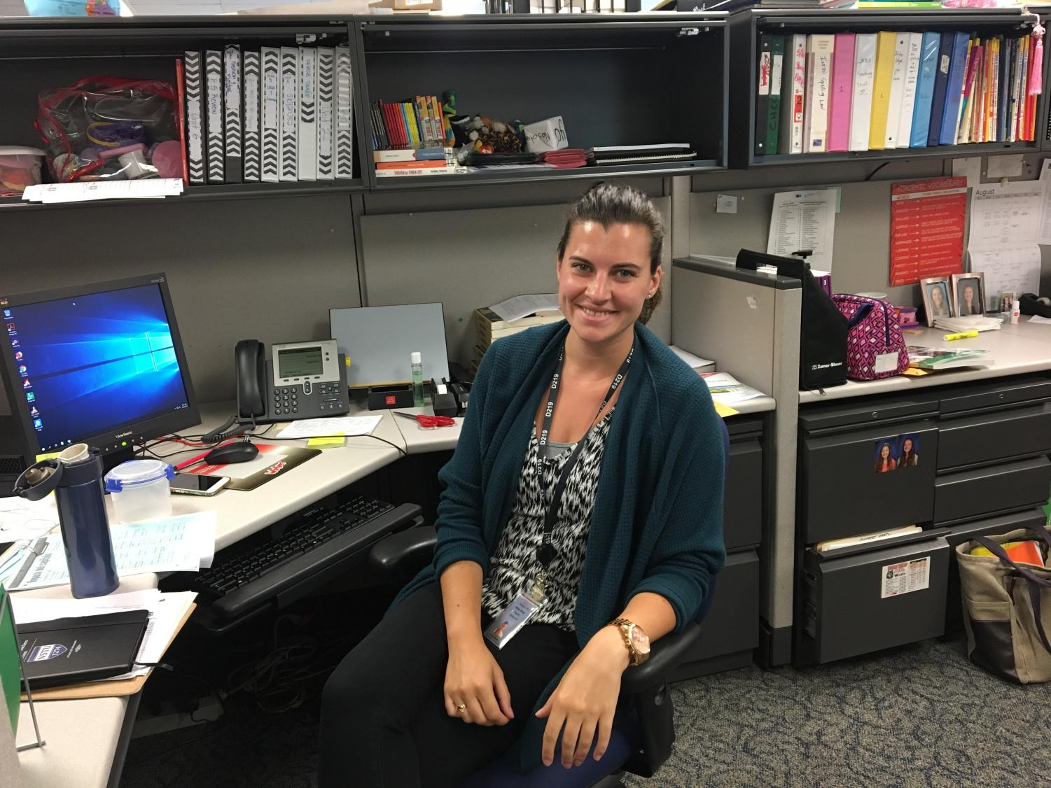 Spanish teacher Emma Baehr is excited for her first year at Niles West.
