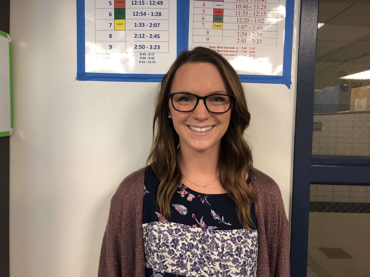 Special Ed teacher and water polo coach Jen Pawelski is ready for the new school year and upcoming season.