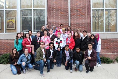 Science Olympiad Free Falling To End of Season