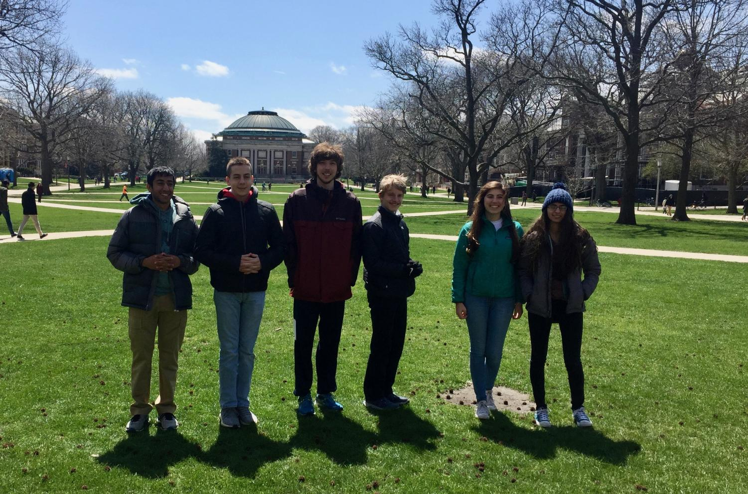 The Niles West WYSE team at the state competition at UIUC.