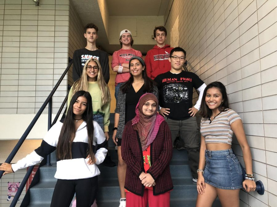 Nine+seniors+were+nominated+for+the+2018+homecoming+court.