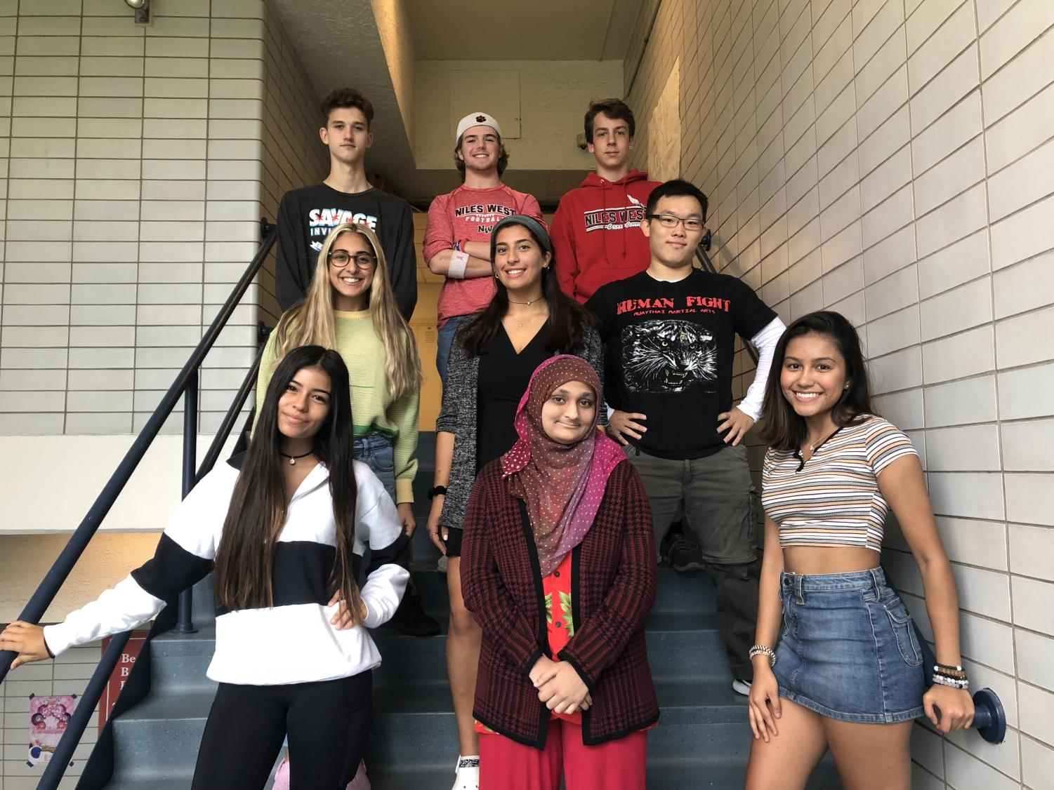Nine seniors were nominated for the 2018 homecoming court.