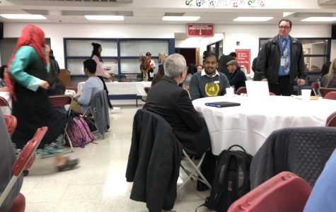 Students Eat Breakfast with the Board; Offer Perspective