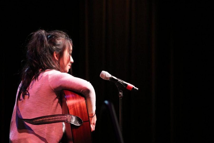 Lynn Nguyen singing