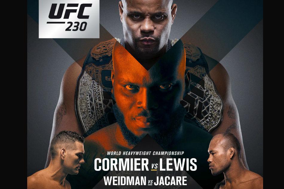 UFC 230: Cormier vs Lewis