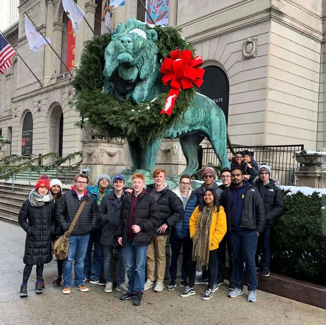 The Niles West Model UN team recently competed at the CIMUN conference in downtown Chicago.