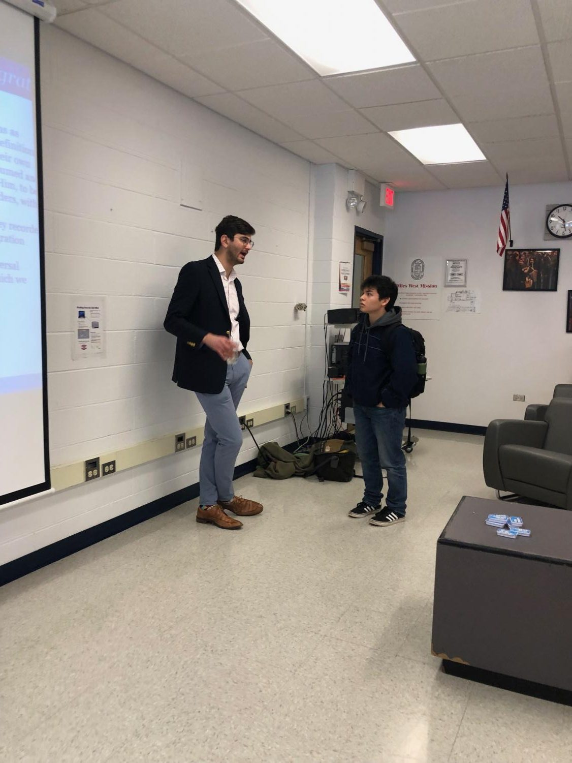 Benjamin Marcus from DC answers senior Max Babbo's questions.