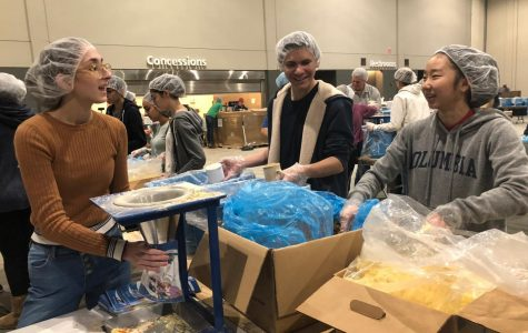 WHO Club Volunteering At Feed My Starving Children