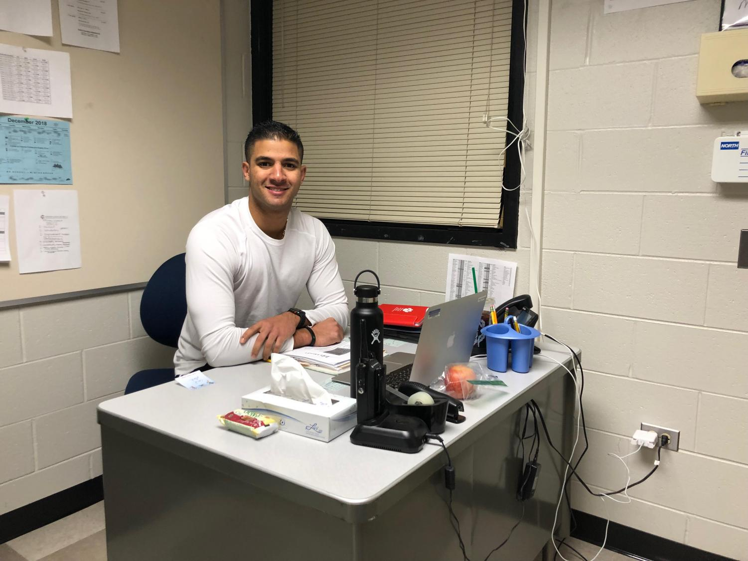 Niles West alum Amir Fakhoury is excited to teach at his former elementary school, Fairview South.