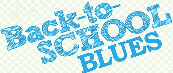 How To Cure Back To School Blues