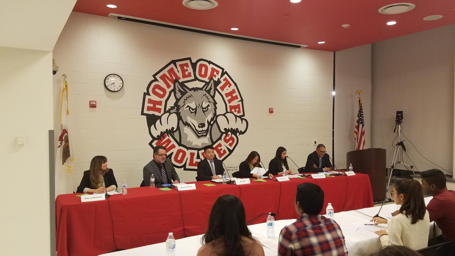 Candidates for District 219 Board of Education had the opportunity to participate in a forum to discuss their reasons for wanting to be elected to the board.