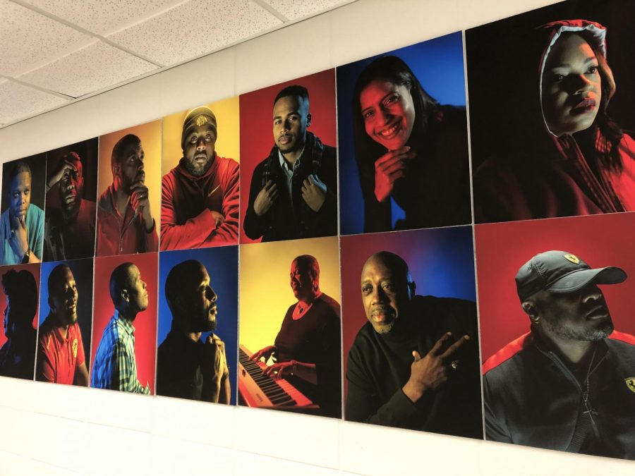 New+Art+Installation+Celebrates+West%27s+Black+Professionals