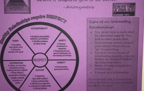 S.A.D.D Club Presents: Healthy Relationships Week