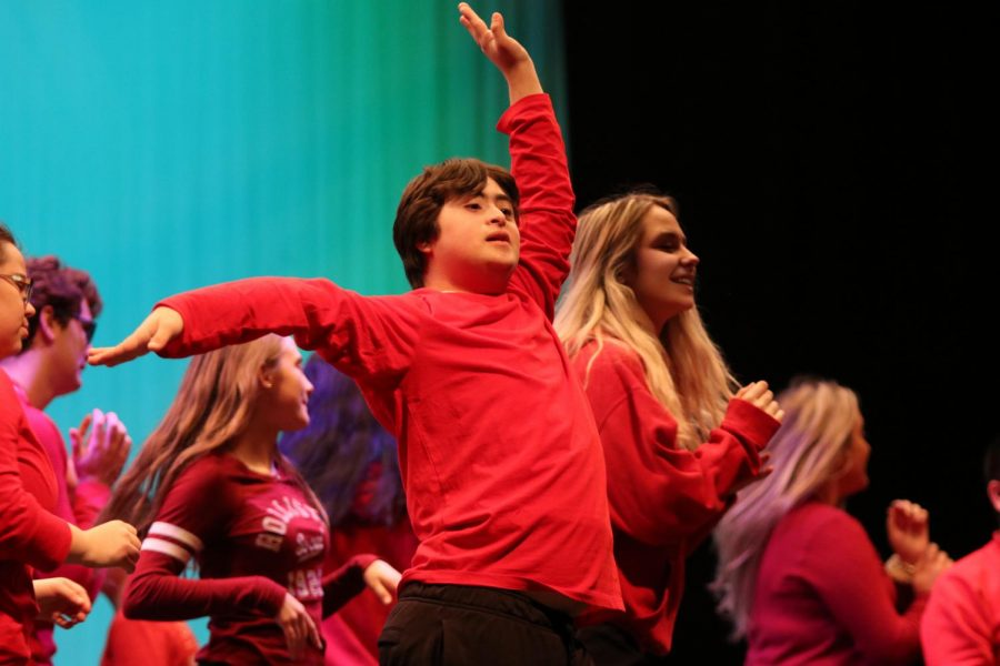 SPED performs with Orchesis for the show and gives everyone a smile on their face.