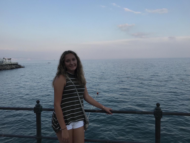 Katerina Rizzotti last summer in Opatija, Croatia.