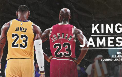 LeBron James Passes Michael Jordan on All-Time Points Leader List