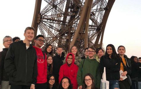 French Students Bid Adieu to Le Mans