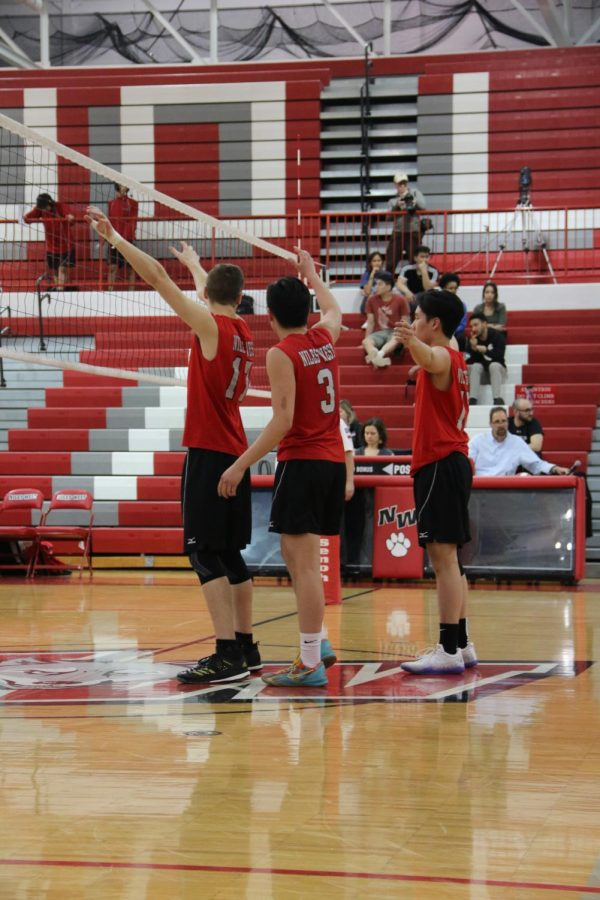 Varsity Boys Volleyball Conquers Niles North