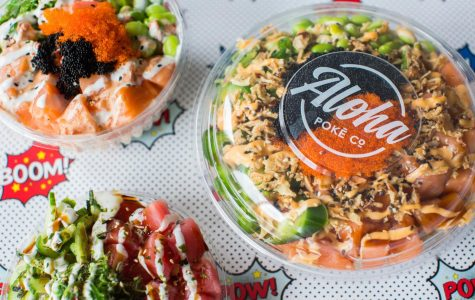 Aloha Poke is a nearby restaurant that features Hawaiian poke bowls.