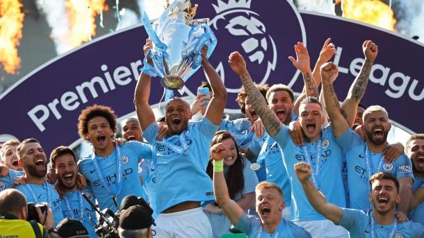 Manchester City Crowned Premier League Champions
