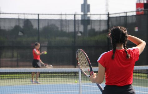 Girls Varsity Tennis vs. Mount Prospect