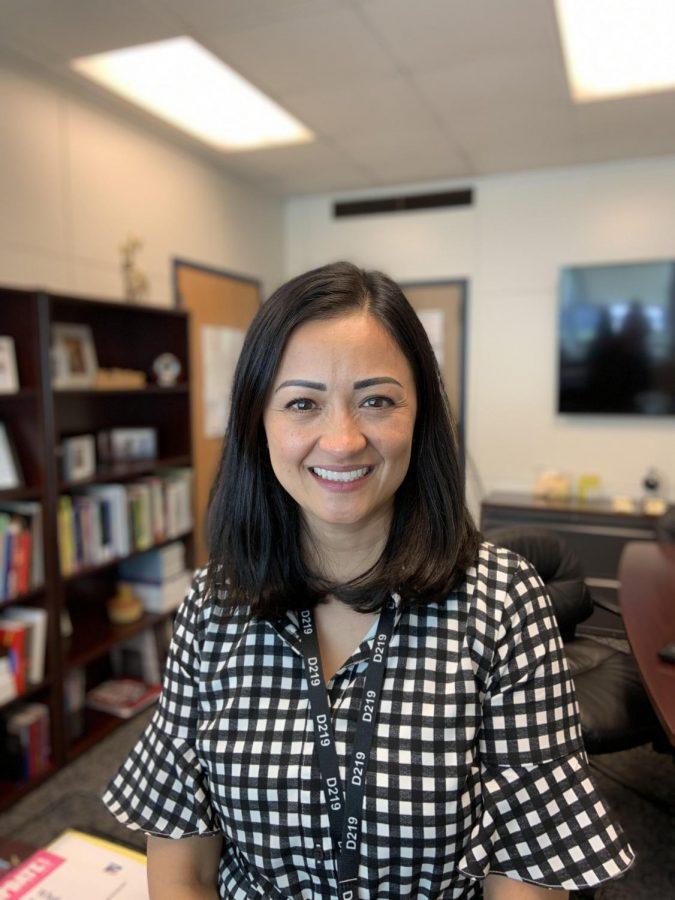 Niles West Principal Dr. Karen Ritter