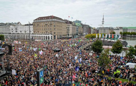 Climate protests in Germany.